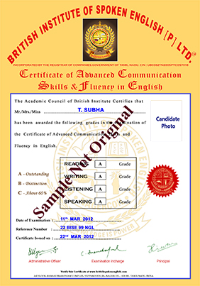 British institute of spoken english sample certificate ielts and british institute of spoken english sample certificate ielts and spoken english coaching institutes in nagercoil yadclub Choice Image